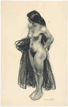 Nude Model and Painter . Edward Hopper, American Realism, American Artists, Hooper Edward, Figure Painting, Painting & Drawing, John Piper, Life Drawing, Art Plastique