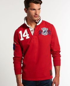 Superdry Gloucester Rugby Shirt - Mens Superdry - Rugby