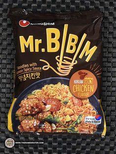 Bibim Korean Spicy Chicken Flavour - The Ramen Rater Chicken Flavors, Packaging Snack, Food Packaging Design, Korean Bbq, Korean Food, Instant Ramen, Instant Recipes, Snack Recipes