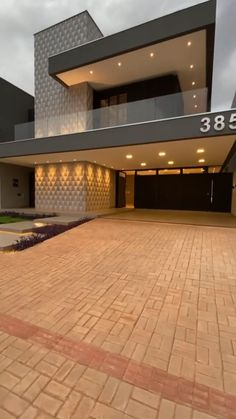 House Arch Design, Unique House Design, Bungalow House Design, Dream Home Design, Modern Exterior House Designs, Modern Villa Design, Minimal House Design, Exterior Design, Model House Plan
