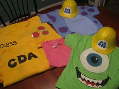 CDA tshirt for Nonna since she is taking Noah and Emme for Halloween as Sully and Boo Disney Halloween, Monsters Inc Halloween, Family Halloween Costumes, Scary Halloween, Mike Monsters Inc Costume, Halloween Couples, Group Halloween, Halloween 2020, Halloween Ideas