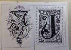 letras J