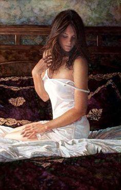 Original Painting, Quiet Confidence by Steve Hanks