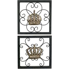 King And Queen Crown Wall Decor crown wall decor | ~ queen of everything ~ | pinterest | wall