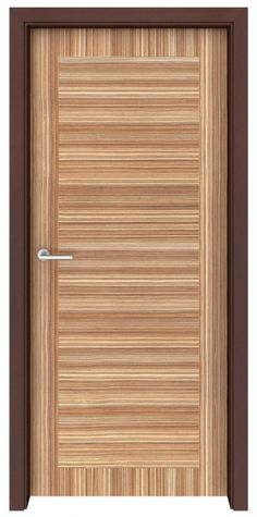 Zebrawood Ontario Flush Interior Door