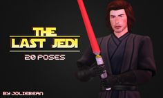 """"""" joliebean: """" The Last Jedi - 20 poses with a lightsaber I'm in a fangirling phase so don't mind me. I started making one pose for my edit with Kylo but then I thought it would be great. Die Sims, Sims Cc, Sims 4 Characters, Star Wars Outfits, Joker Wallpapers, Trending Photos, Rey Star Wars, Sims 4 Cc Finds, Sims 4 Clothing"""