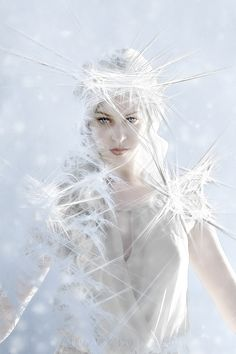 Ice Queen Detail by Nairon.deviantart.com on @deviantART