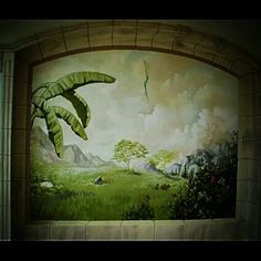 #murals #painting on #wall #illusion_painting #art_work #interior #decoration made by me
