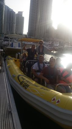 Before departure at #theyellowboats