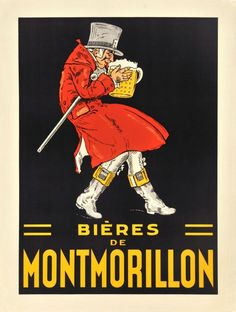 french beer poster