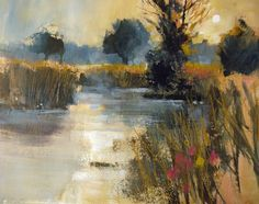 Beyond Watercolour - With Chris Forsey R. Easy Watercolor, Watercolor Artists, Watercolor Landscape, Abstract Watercolor, Abstract Landscape, Watercolour Painting, Landscape Paintings, Watercolors, Abstract Art