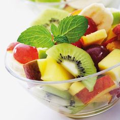 5 Foods To Enjoy During Summer: Fruit Salad   By Homemade Recipes at http://homemaderecipes.com/course/appetizers-snacks/5-foods-to-never-eat-during-summer