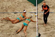 Clancy, Taliqua, Bawden, Louise, Meppelink, Madelein - Voleibol de playa - Australia, Netherlands - Femenino - Femenino, preliminares - grupo F - BVA - Arena de Vóley-Playa