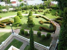 Hermosos jardines del Castillo Serrallés Ponce, #PuertoRico