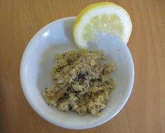 Home Cooked Vegan: Lemon Poppyseed Quinoa with Prunes http://homecookedvegan.blogspot.com/2015/09/lemon-poppyseed-quinoa-with-prunes.html