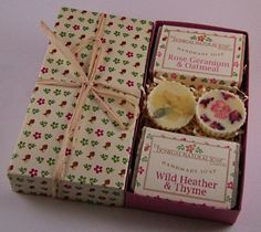 The Bath Box - Donegal Natural Soap Rose Soap, Donegal, Geraniums, Gift Wrapping, Bath, Natural, Handmade, Gifts, Ideas