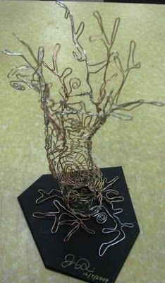 ARTISUN: 3-D Wire Sculptures - Student Art