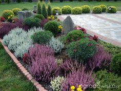 Creative Landscape, Landscape Design, Garden Design, Herb Garden, Home And Garden, Bloom Where Youre Planted, Sloped Garden, Ornamental Grasses, Front Yard Landscaping