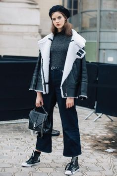 Street style at Fashion Week fall-winter 2017-2018 from Paris… | Fashion Paradise