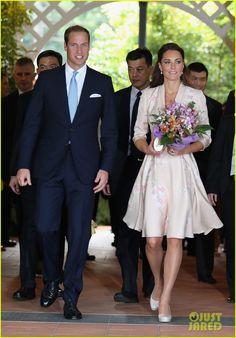 Prince William & Duchess Kate: Singapore Botanical Gardens!
