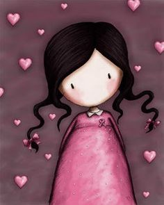 Gorjuss ~ Pink Hearts