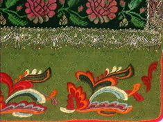 Forkle - Norsk Folkemuseum / DigitaltMuseum Textiles, Embroidery, Beads, Museum, Crochet, Painting, Art, Chrochet, Craft Art