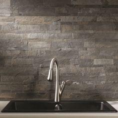 Aspect 6 x 24-inch Frosted Quartz Peel and Stick Stone Backsplash | Overstock.com Shopping - The Best Deals on Backsplash Tiles