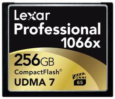 Lexar LCF256CRBEU1066 Carte Mémoire CompactFlash Classe 10 256 Go