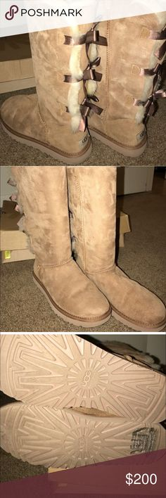 🎀 beautiful UGG chestnut baily tall boot 🎀 🎀 beautiful UGG chestnut baily tall boot 🎀 these boots are in excellent condition, only selling because I live in Florida and never use them UGG Shoes Winter & Rain Boots
