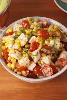 Caprese Corn Salad  - Delish.com