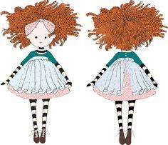 Duddi doll by  Cecília Murgel