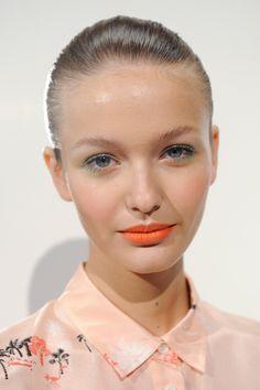 JCrew, Spring 2013 - Best Spring 2013 Runway Makeup - StyleBistro