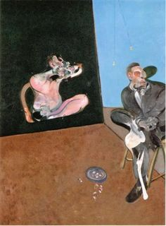 Visit us to license this and other works by Francis Bacon. © The Estate of Francis Bacon. All rights reserved, DACS/Artimage Photo: Prudence Cuming Associates Ltd Francis Bacon, Modern Art, Contemporary Art, Triptych, Oeuvre D'art, Painting & Drawing, Human Painting, Oil On Canvas, Art History