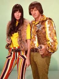 "Sonny and Cher, we played barbies and sang to their song ""I got you babe"""