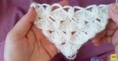 Örgü Gelin Şalı Yapılışı #crochet #örgü #knit #knitting