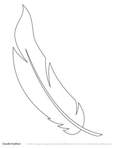 The Latest Trend in Embroidery – Embroidery on Paper - Embroidery Patterns Feather Stencil, Feather Template, Feather Drawing, Feather Vector, Feather Art, Feather Pattern, Art Template, Templates Printable Free, Feather Design