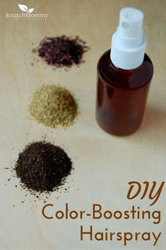 An all natural DIY hairspray that BOOSTS your color!!
