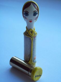 Retro 1960's Figural LIPSTICK DOLL Vintage Lady Vanity Compact Related | eBay