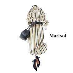 着るだけで細見え効果が期待できるストライプ柄をチョイスしてみるMarisol ONLINE 女っぷり上々!40代をもっとキレイに。