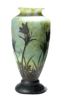 Vase by the Daum brothers (from Art Monie blog)