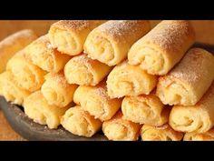 Tvarohové koláčky s kokosem: Všechny kamarádky chtěly recept, když jsem je nabídla ke kávičce ! - Strana 4 z 4 - Woman Tiscali Cheese Cookies, Cake Cookies, Snack Recipes, Dessert Recipes, Snacks, Vegetarian Desserts, Sweet Pastries, Pretzel Bites, Sweet Treats