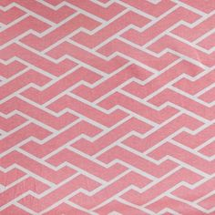 Pink City Maze Fabric