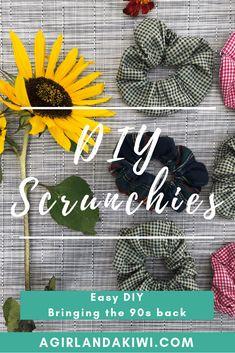 DIY Scrunchies - Eas