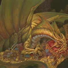 Last of the epic Dragon series, talking about the noblest of the Metallic Dragon-kind, the pure-hearted Silver, and the regal Gold dragons. Types Of Dragons, Dnd Dragons, Cool Dragons, Dungeons And Dragons, Imagine Dragons, Dragon Horse, Dragon Art, White Dragon, Silver Dragon