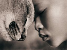 Lots of people talk to animals. Not very many listen, though. That's the problem. ~Benjamin Hoff {Image: Ashes & Snow}