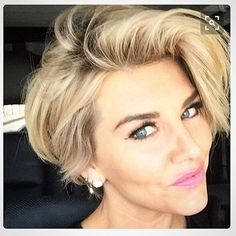"""""""I ❤️ this haircut! Super cute. #hairstyles #haircuts #sassy #shorthair #stylish #washandgo #pixiebob"""" Photo taken by @lceller6 on Instagram, pinned via the InstaPin iOS App! http://www.instapinapp.com (03/02/2016)"""