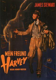 German poster for Harvey (Henry Koster, USA, 1950)