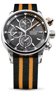 "Maurice Lacroix Pontos S, this is what they call ""Nato Chic"""