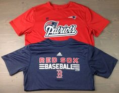 New England Patriots Boston Red Sox T Shirt Large 14/16 Youth Boys Red Blue-2 PC | Sports Mem, Cards & Fan Shop, Fan Apparel & Souvenirs, Football-NFL | eBay!