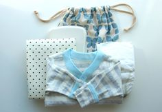 On the go change kit for baby gift